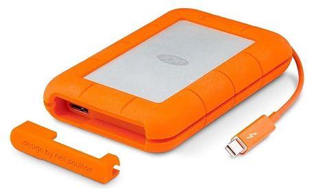 LaCie Rugged v2 2TB, USB 3.0, 9000489 Oranžová