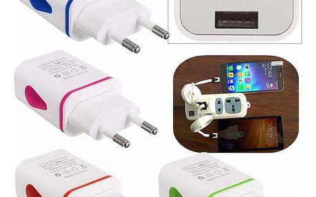 Nabíjecí adaptér s 2 USB porty