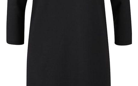 Černé šaty s dlouhým rukávem VERO MODA Vigga