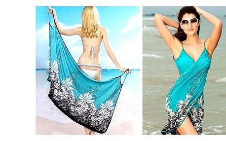 Elegantní plážové šatyjsou dobrou volbou pro dovolenou u moře i na cestu ke koupališti.
