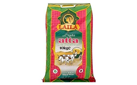 Mouka na chapatti Laila Atta Light Medium 10 kg