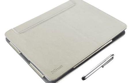 Trust eLiga Elegant Folio Stand with stylus for iPad - sand