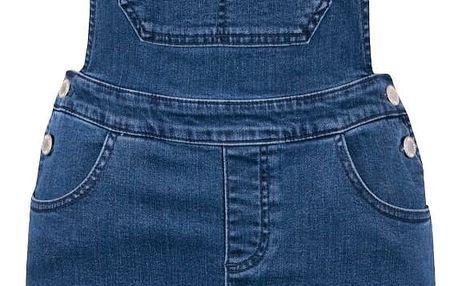 Modré džínové lacláčové šaty Miss Selfridge