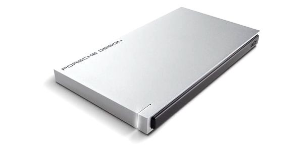 LaCie Porsche Design Slim 500GB LAC9000304 Stříbrná