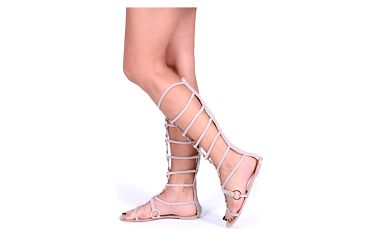 Béžové sandály Warol