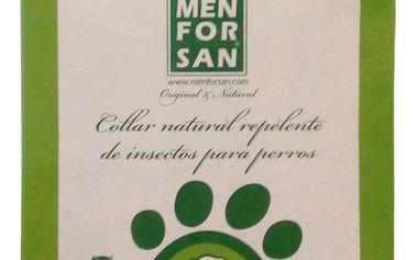 Menforsan Přírodní obojek pro psy, odpuzující klíšťata a blechy (Natural Insect Repellent Collar for Dogs) - Skladem