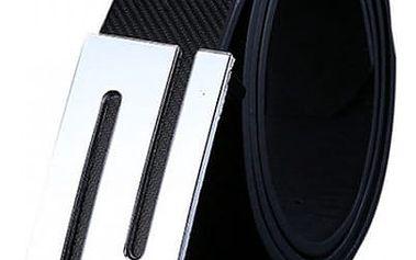 Pásek pro muže s ozdobnou sponou - 108 cm