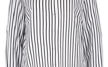 Černo-krémová dámská pruhovaná košile Desires Gloria