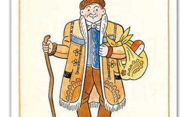 Omalovánky - Josef Lada - Český Honza - dodání do 2 dnů