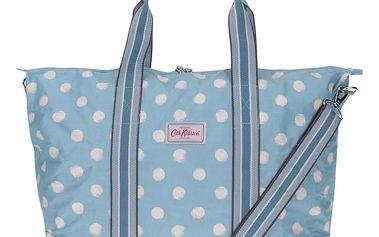 Modrá puntíkovaná taška s pouzdrem 2v1 Cath Kidston