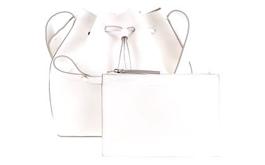 Krémová kabelka s psaníčkem French Connection Core