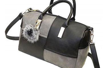 Dámská kabelka v zajímavé dvojkombinaci barev - různé druhy
