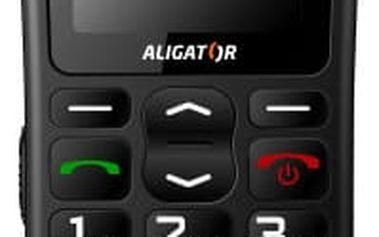 Aligator A430, černošedá - A430cs