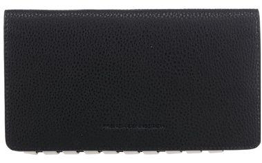 Krémovo-černá peněženka French Connection Whipstitch