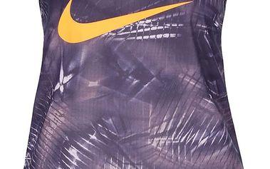 Fialové dámské tílko Nike Dry Training