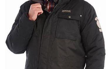Pánská zimní bunda Regatta RMP182 SKYBER Black L