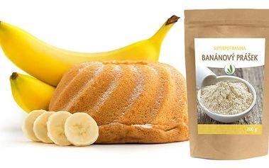 Zdravý banánový prášek Allnatura na vaření – 200 g