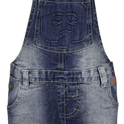Modré džínové holčičí šaty s lacly LEGO Wear Danica