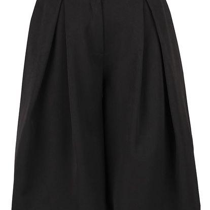 Černé krátké culottes kalhoty Alchymi Payette