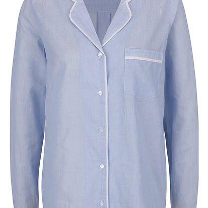 Světle modrý vrchní díl pyžama Y.A.S Cotta