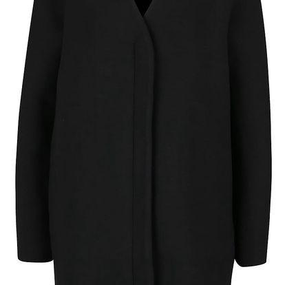 Černý lehký kabát se zapínáním na zip VILA Tinny