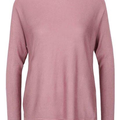 Růžový svetr VERO MODA Rubi