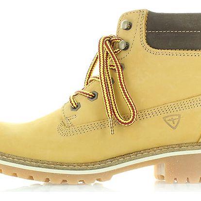 Světle hnědé kotníkové boty Tamaris 25242
