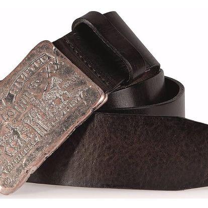 Pánský pásek Levi's - AB10732-29 Tmavě hnědý