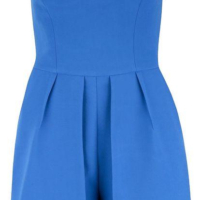 Modrý bandeau overal Miss Selfridge