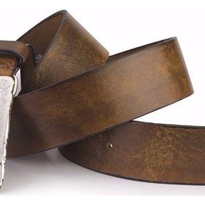 Pánský pásek Levi's - AB10732 Hnědý