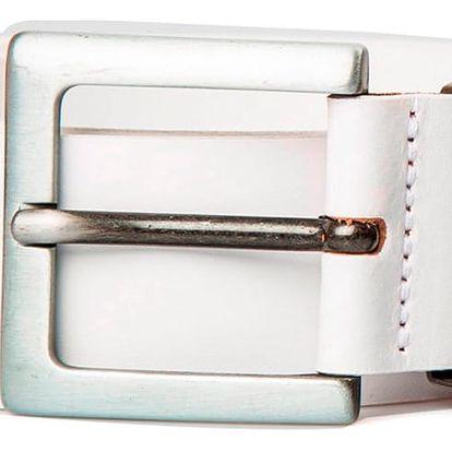 Pánský pásek Levi's - AB04170 Bílý
