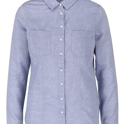 Modrá vzorovaná košile TALLY WEiJL
