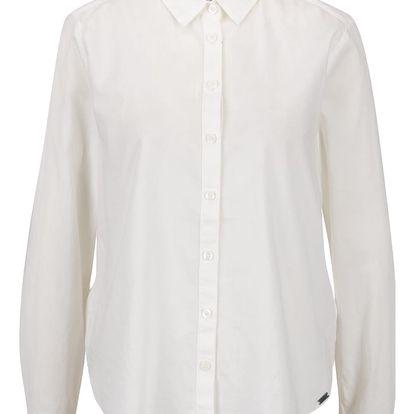 Krémová dámská košile QS by s. Oliver