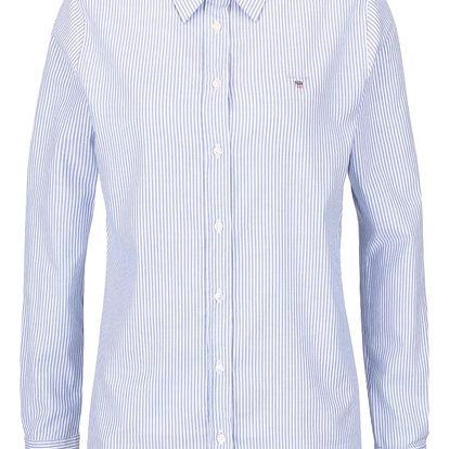 Bílo-modrá dámská pruhovaná košile GANT