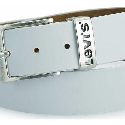 Pánský pásek Levi's - AB215111 Bílý
