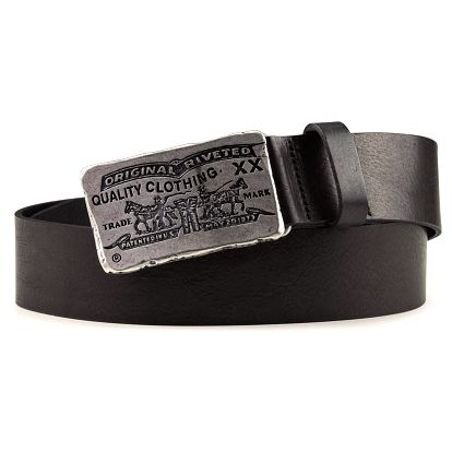 Pánský pásek Levi's - AB10732-59 Černý