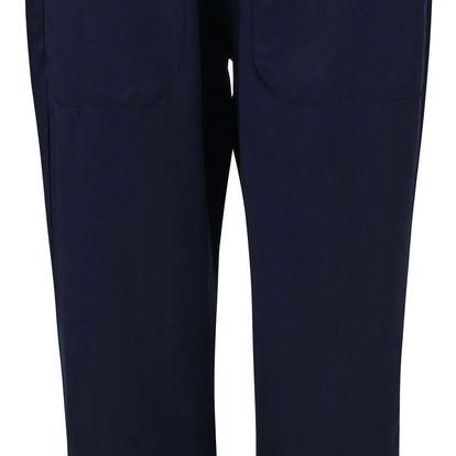 Tmavě modré volnější kalhoty Alchymi Obsidian