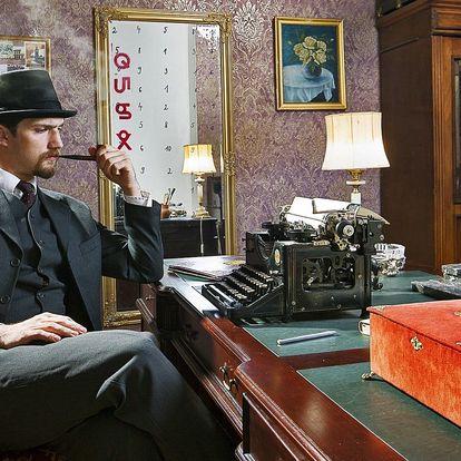 Napínavá úniková hra pro 2–6 detektivů