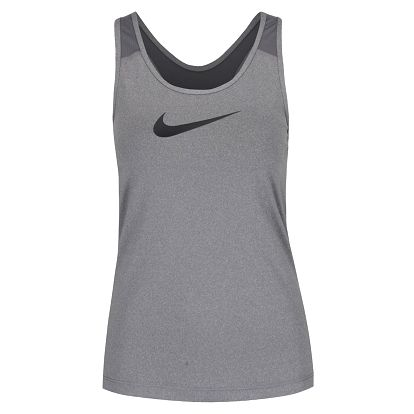 Šedé dámské tílko Nike Pro Tank