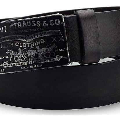 Pánský pásek Levi's - AB216569 Tmavě hnědý