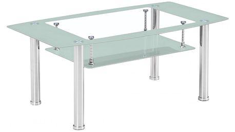 Konferenční stolek BA-3-Frame - bílý