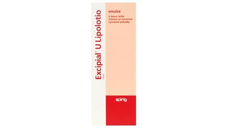 EXCIPIAL U LIPOLOTIO 1X200ML Emulze