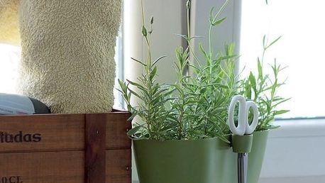 Květináč na bylinky Limes Dublo s nůžkami