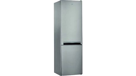 Kombinovaná lednička s mrazákem dole Indesit LI9 S2Q X