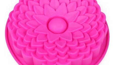 Silikonová forma na dort ve tvaru květiny