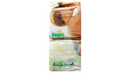 Pampers Premium Care 4 maxi 7 - 14 kg 52 kusů