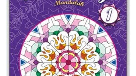 Antistresové omalovánky - Mandaly - dodání do 2 dnů