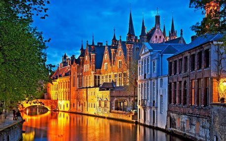 Antverpy, Bruggy a Brusel s ubytováním a snídaní