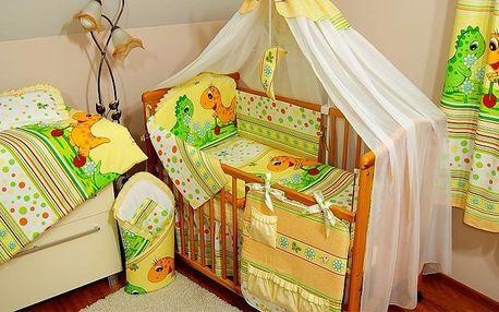 Dětská postýlka s kompletní výbavou - vybírejte z 26 barevných variant