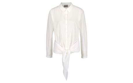 Krémová košile s vázáním VERO MODA Grace